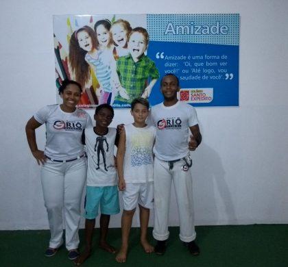 Capoeira e Tênis de Mesa